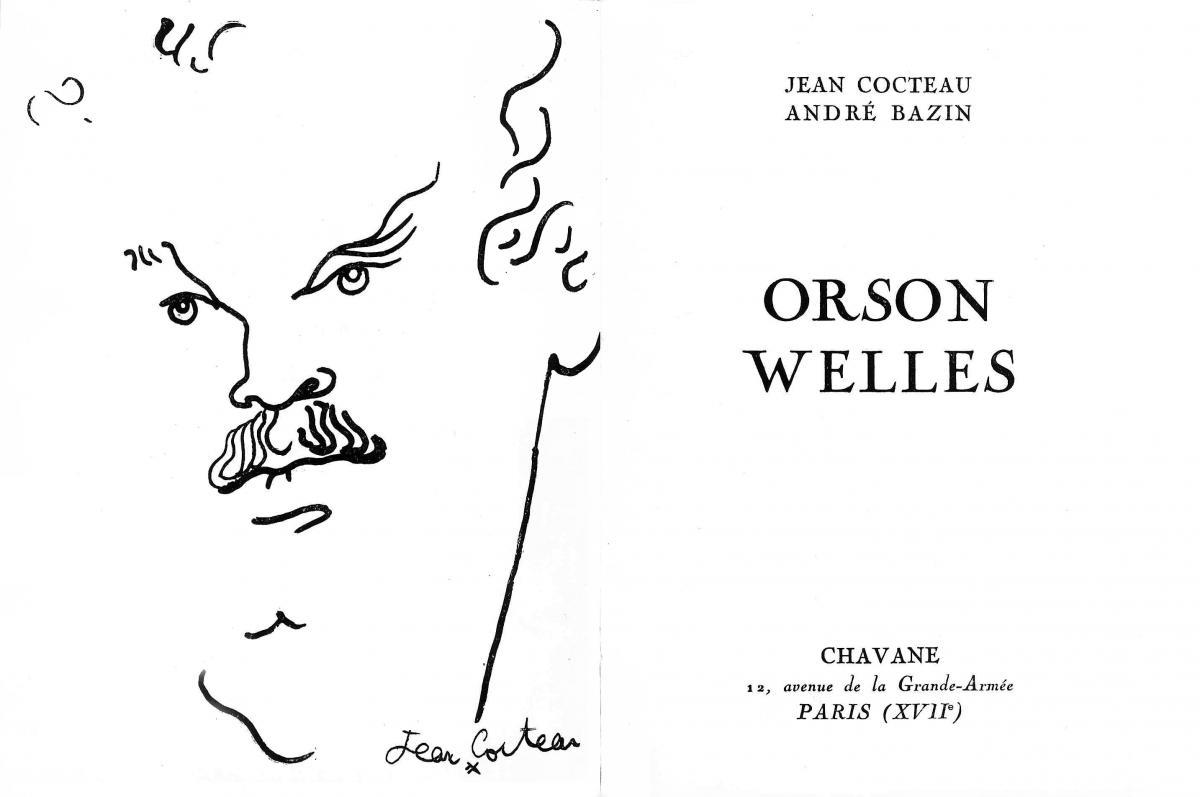 (1) Beeld uit het boek Orson Welles (1950) van André Bazin