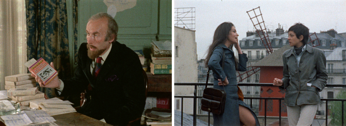 (5) & (6) Out 1, noli me tangere (Jacques Rivette, 1971)